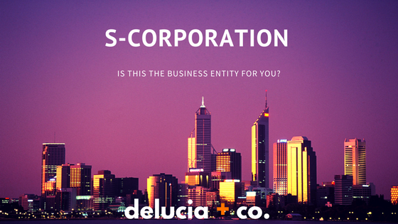 S-Corporation Business Entity