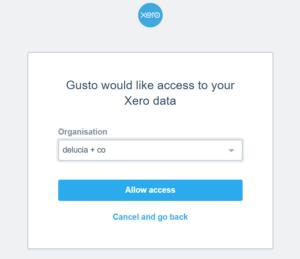 Gusto & Xero Integration & Reconciliation